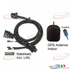 DVD NAVI ADAPTER - AUDI Q7 4L CON MMI HIGH 2G+ GPS ANTENNA INDOOR