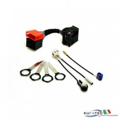 AUDI UPGRADE KIT HEAD UNIT RNS-D A RNS-E - AUDI