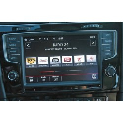 "RETROFIT - RADIO COMPOSITION COLOR 5"" TO NAVIGATION DISCOVER PRO - VW GOLF 7"