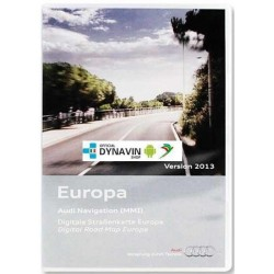 Cartografia DVD Europa 2013 - Audi MMI 2G High