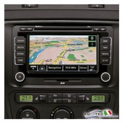 "RADIO NAVIGATION SYSTEM COLUMBUS, DISPLAY TOUCH 6,5"" - RETROFIT - SKODA"
