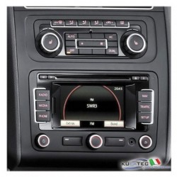"RADIO NAVIGATION SYSTEM RNS-315, DISPLAY TOUCH 5"" INCL. BLUETOOTH - RETROFIT - VOLKSWAGEN"