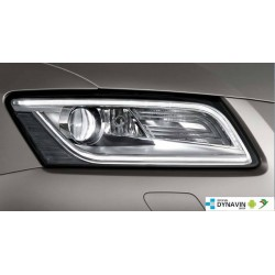 BI-XENON/LED HEADLIGHTS - RETROFIT - AUDI Q5 8R FACELIFT 2013